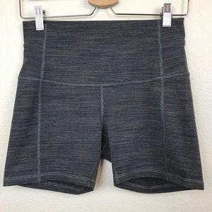 "Lululemon Align Shorts 4"" striped"